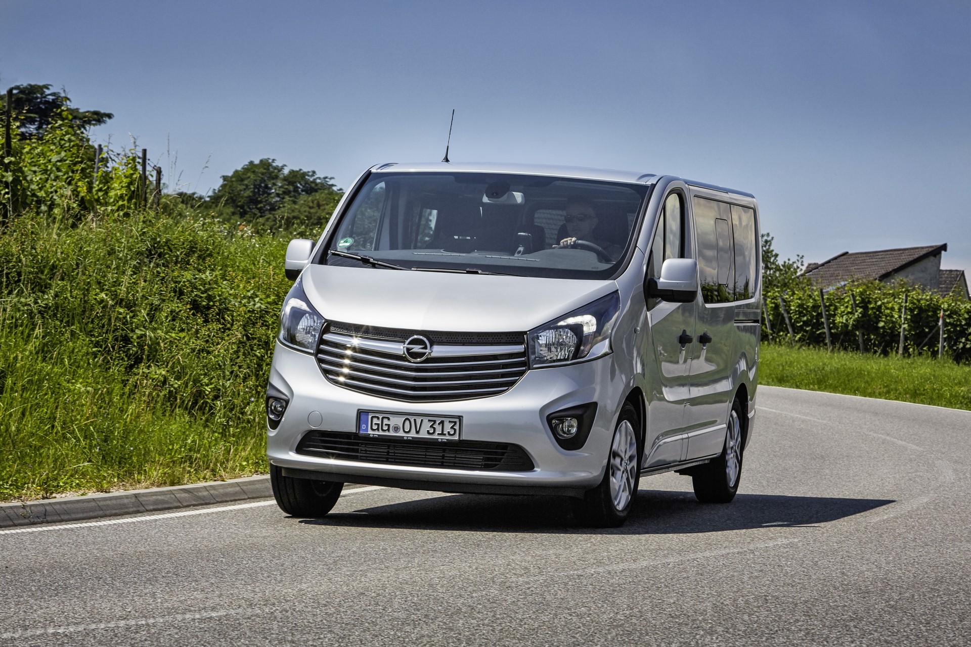 New Opel Vivaro Combi+