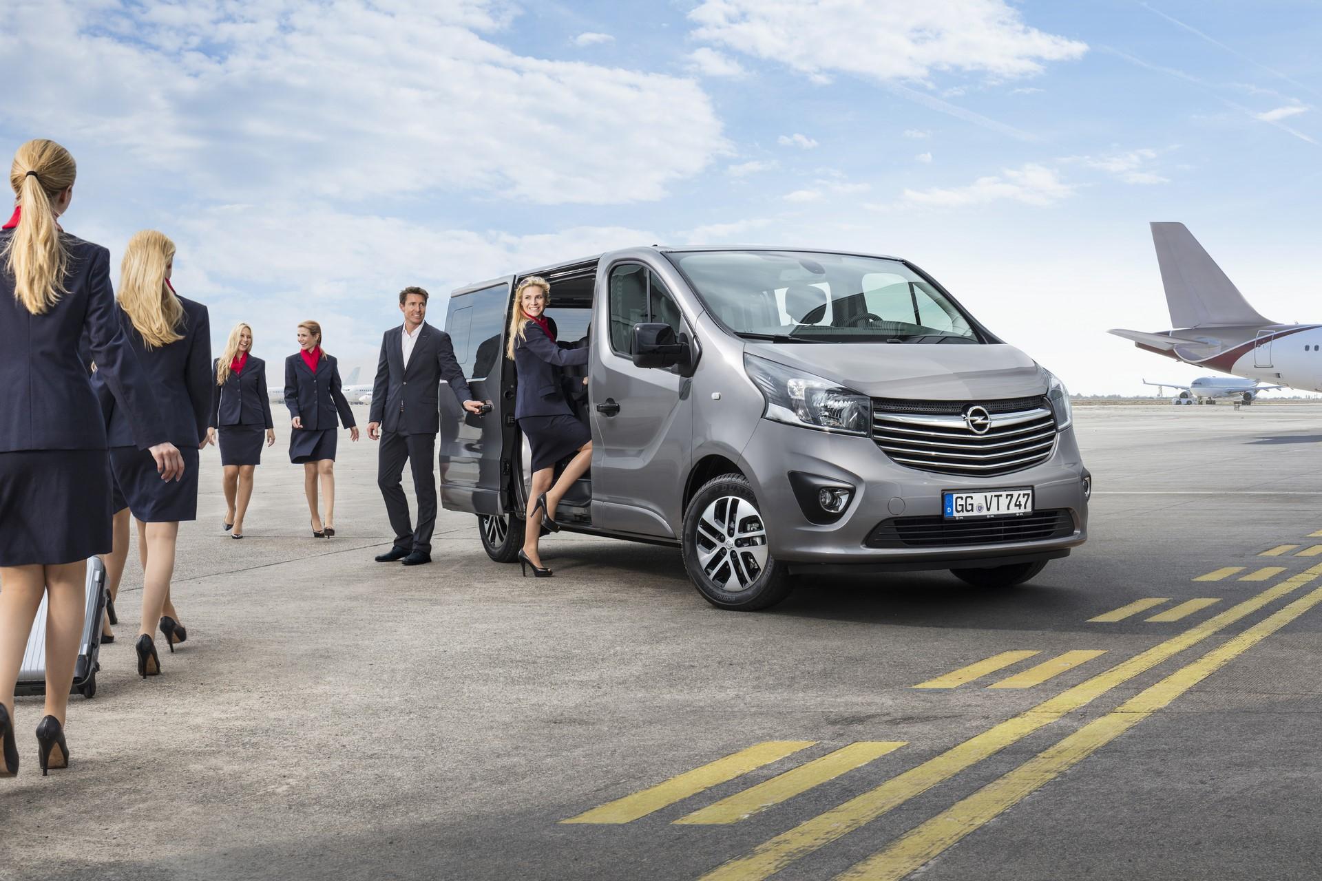 New Opel Vivaro Tourer