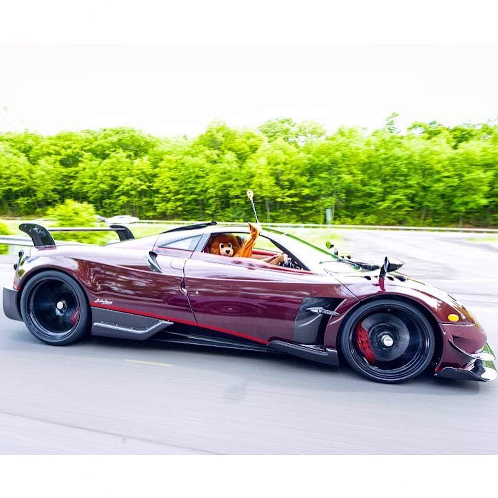 Pagani Huayra BC red carbon (14)