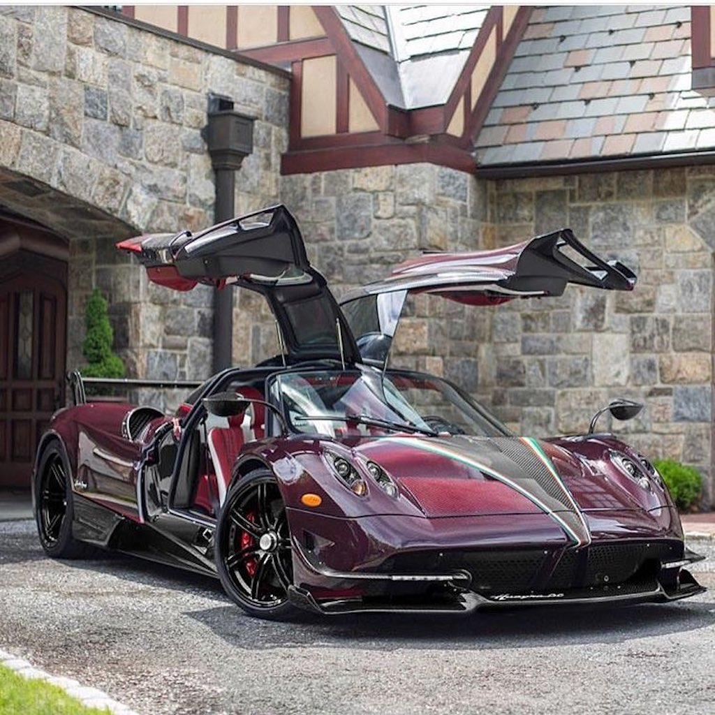 Pagani Huayra BC red carbon (15)