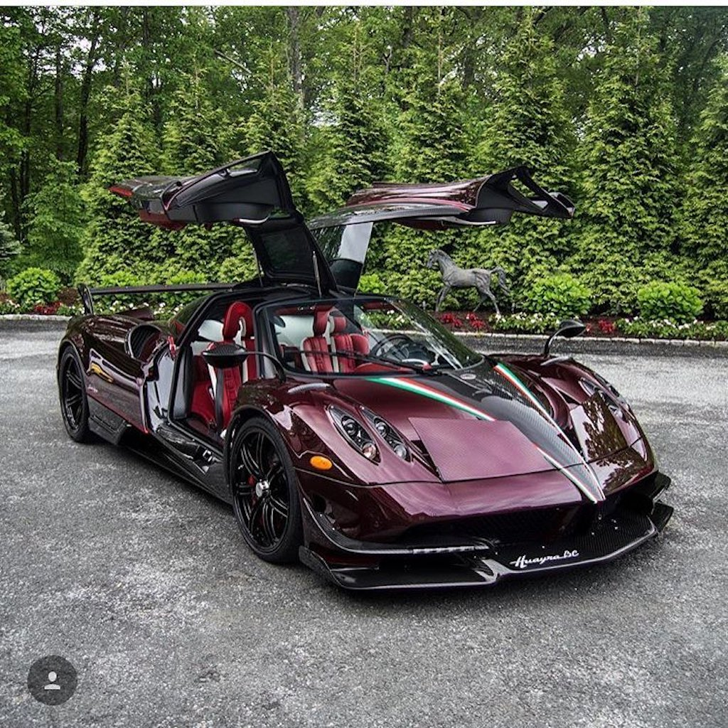 Pagani Huayra BC red carbon (16)