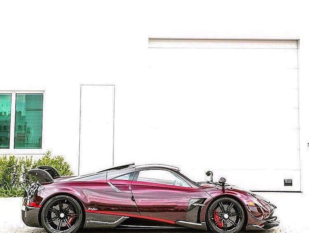 Pagani Huayra BC red carbon (3)