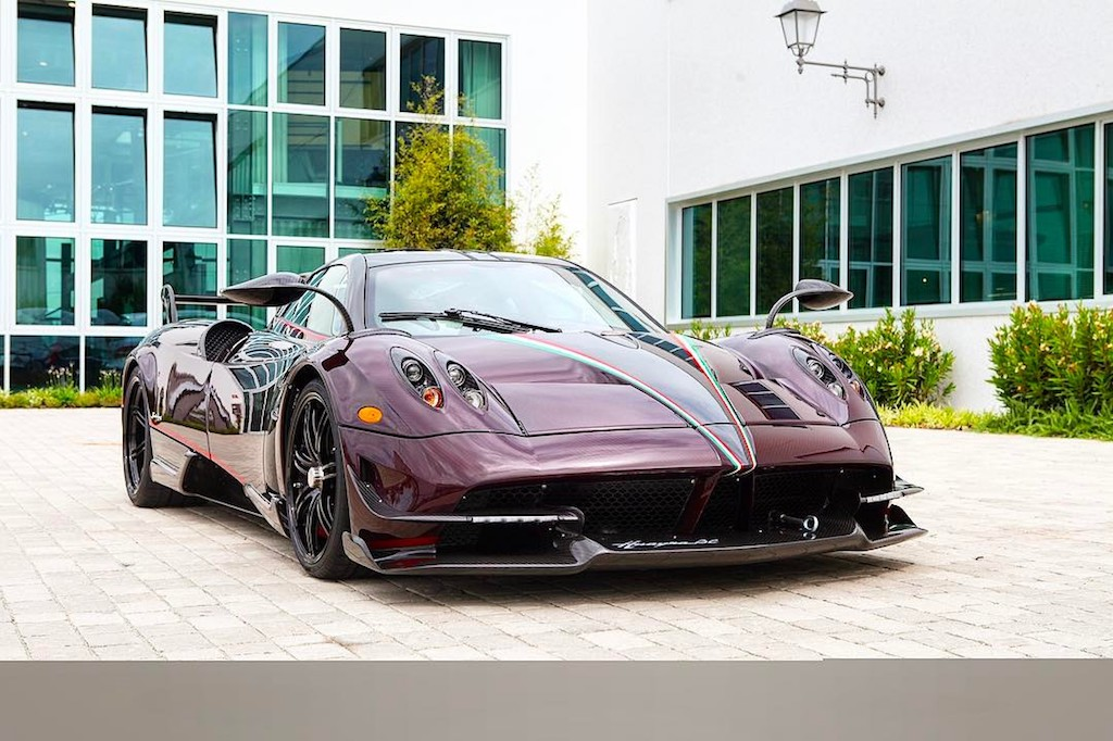 Pagani Huayra BC red carbon (8)