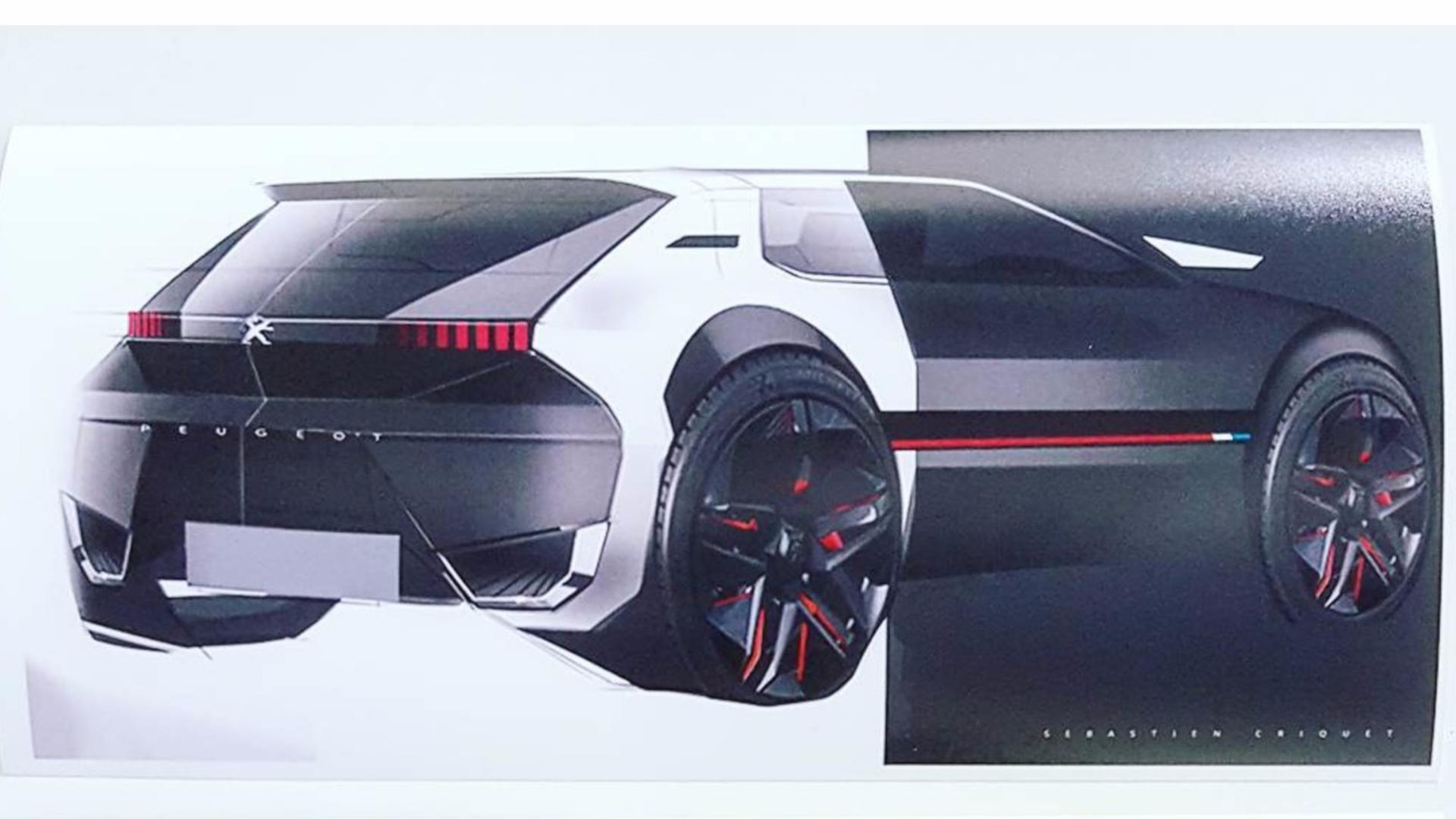 Peugeot 205 GTI Sketches (3)