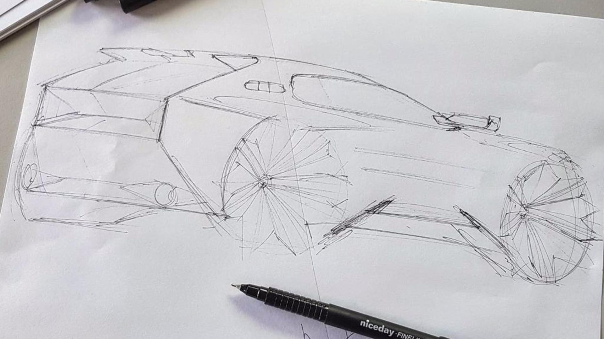 Peugeot 205 GTI Sketches (7)