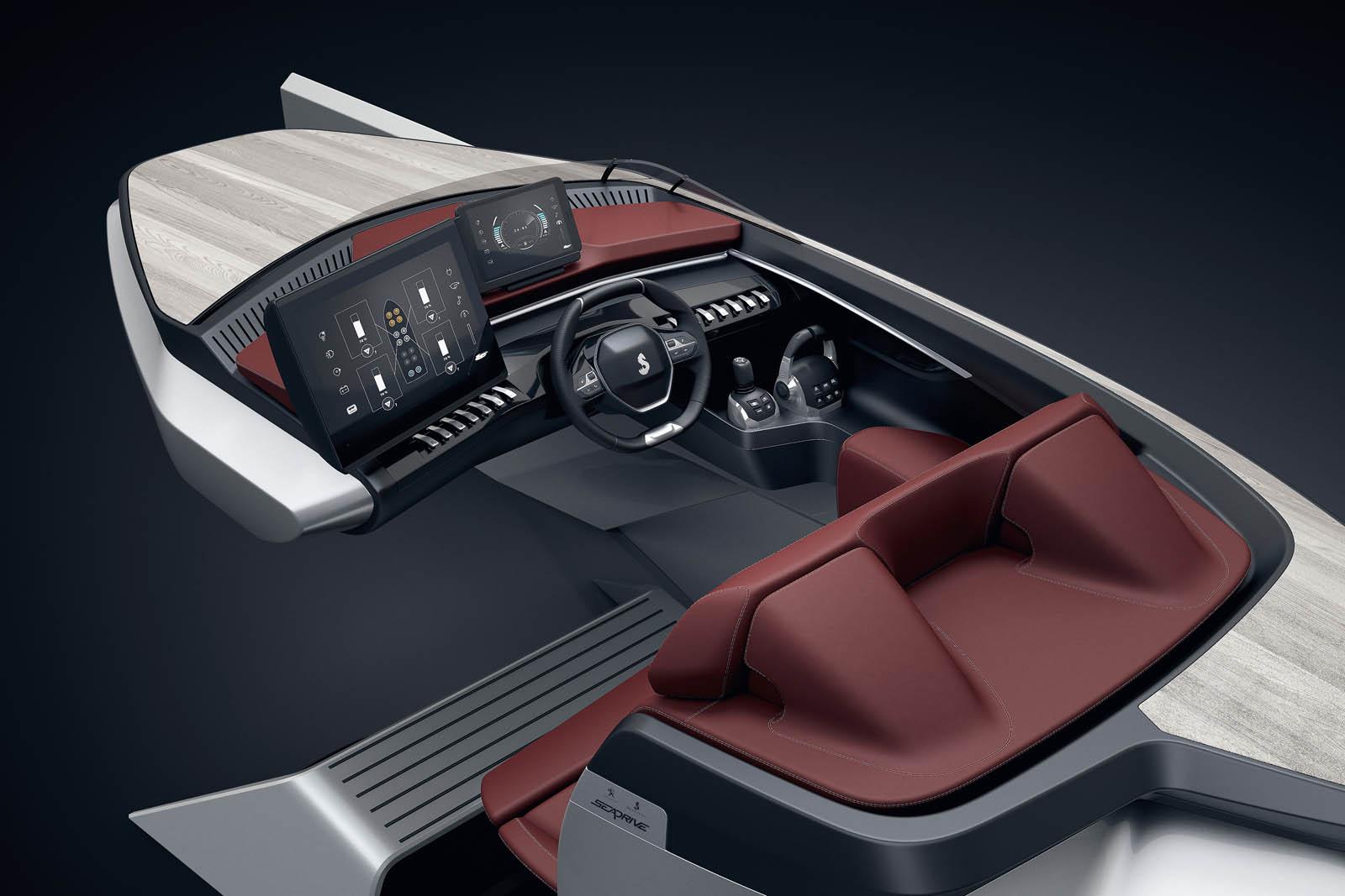 Peugeot Beneteau Sea Drive Concept (4)
