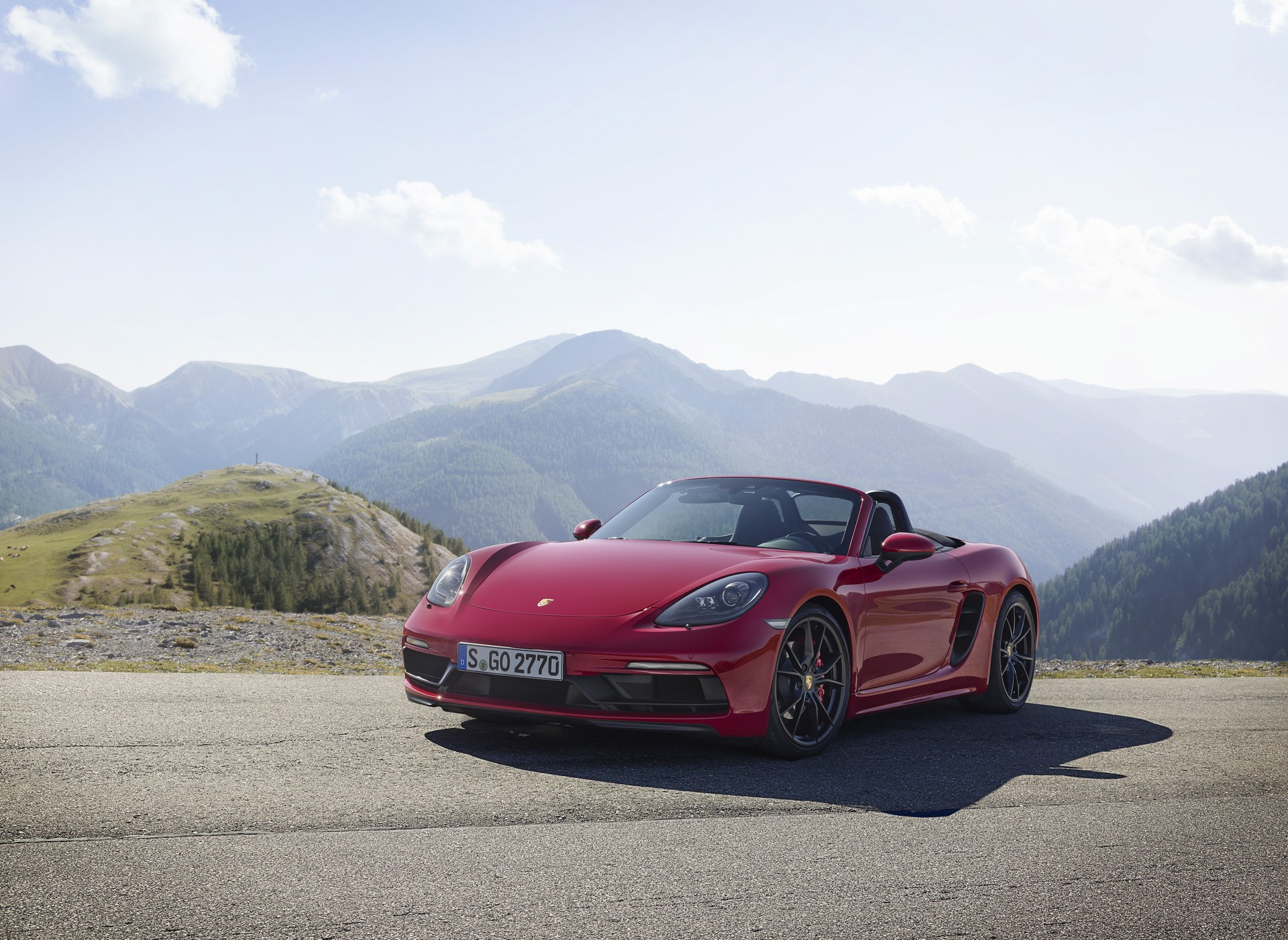 Porsche 718 Boxster GTS and 718 Cayman GTS 2018 (14)