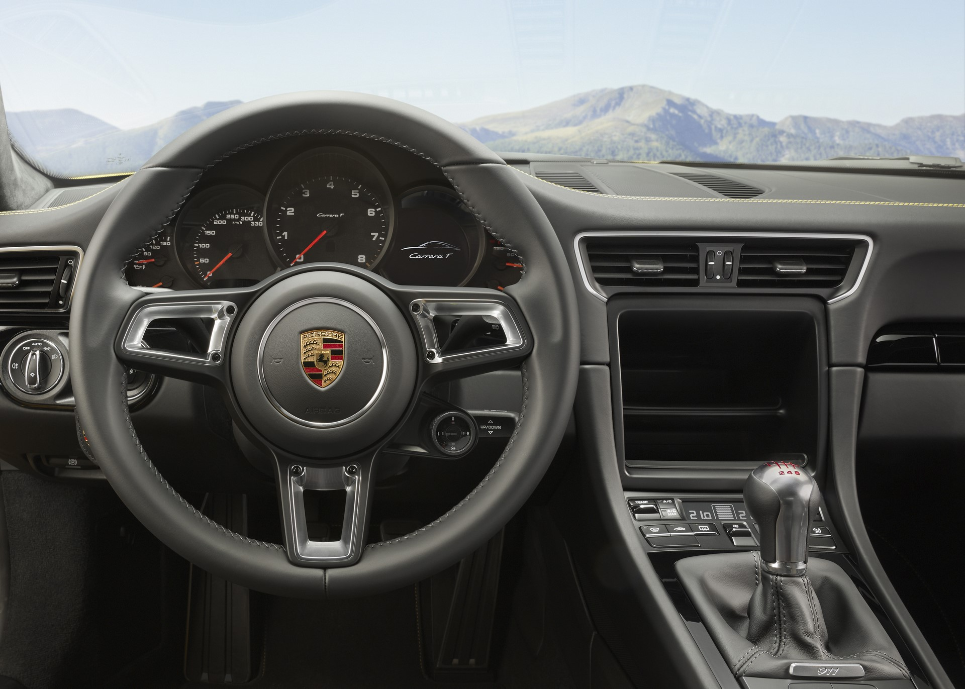 Porsche 911 Carrera T 2018 (9)