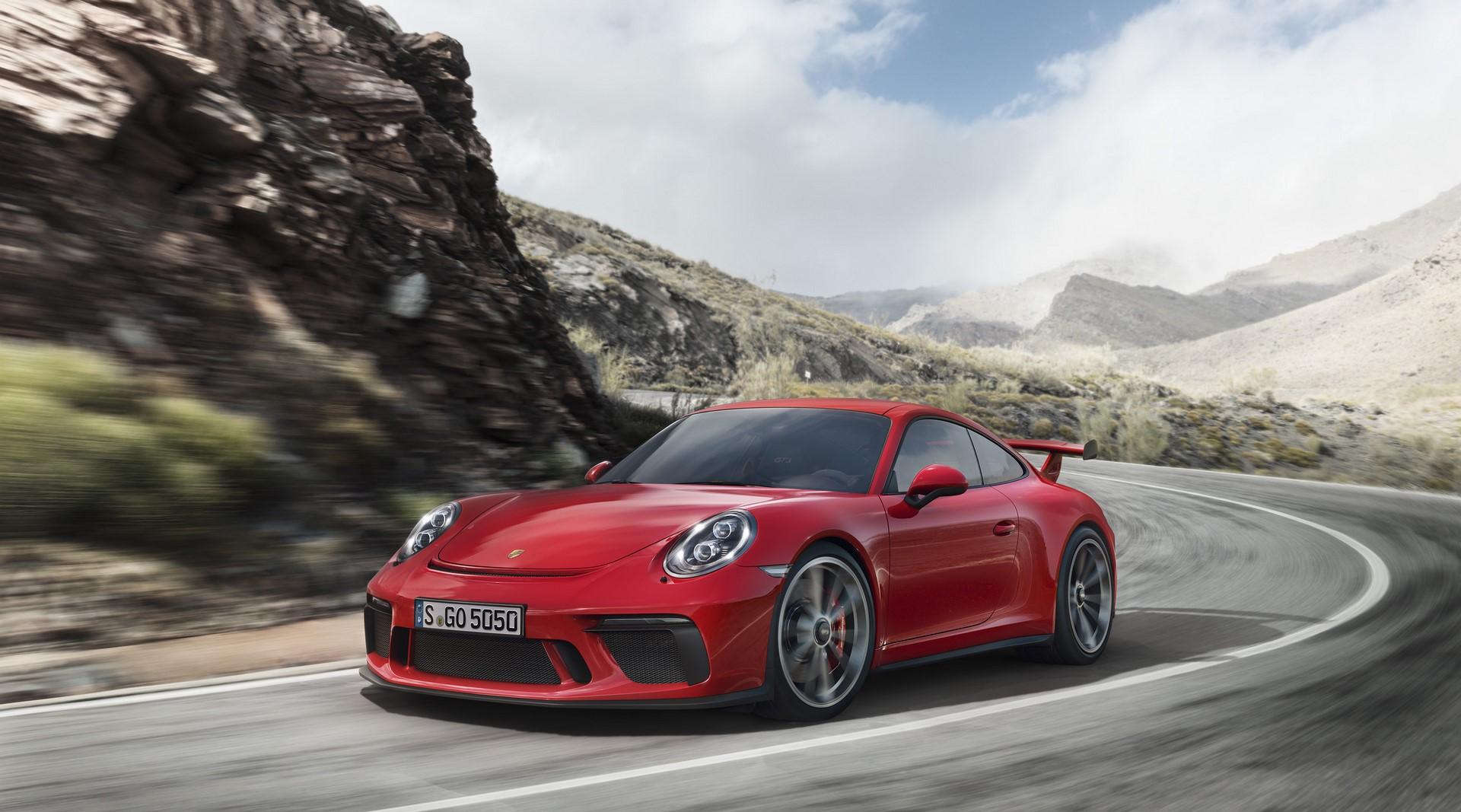 Porsche 911 GT3 facelift 2018 (1)