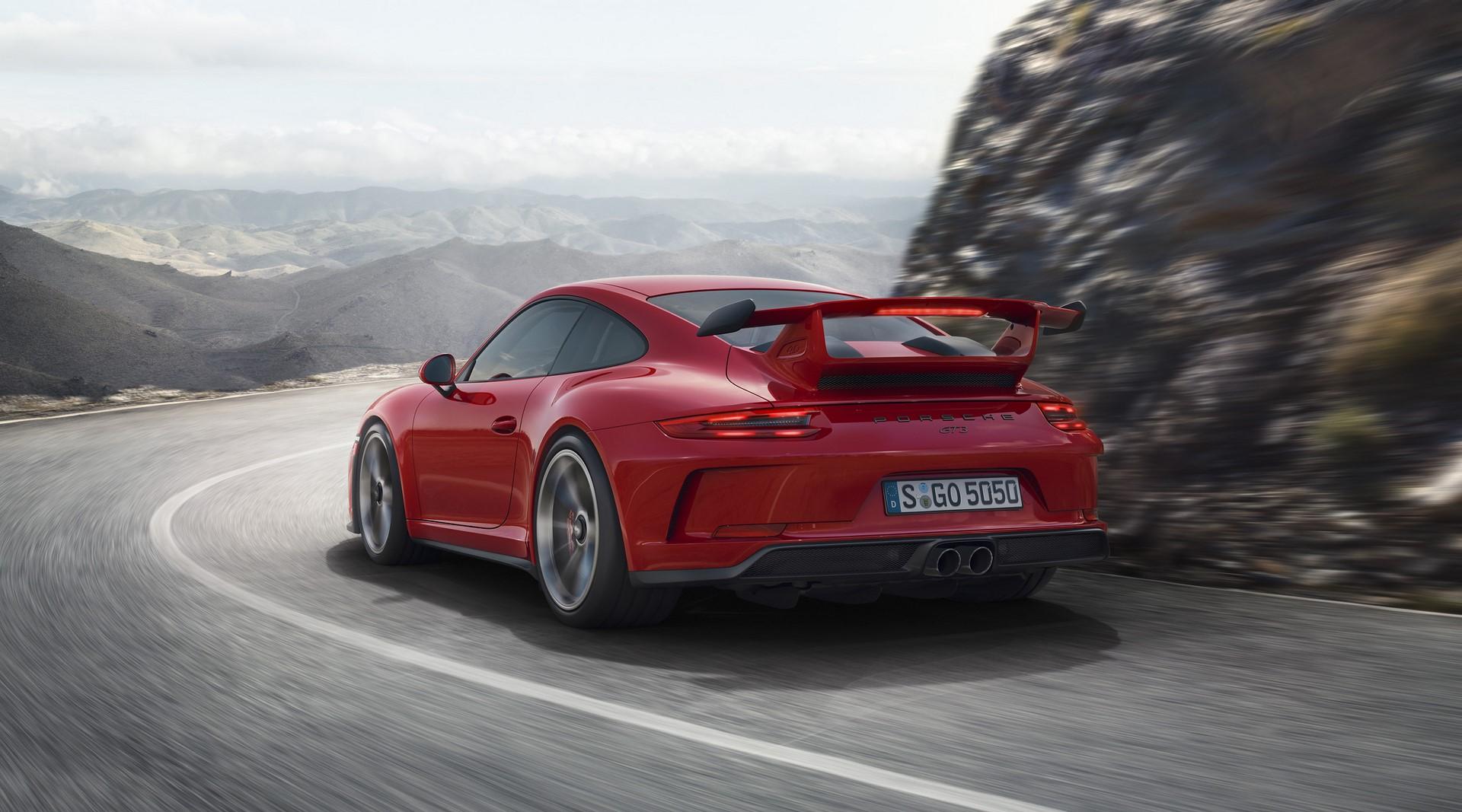 Porsche 911 GT3 facelift 2018 (2)