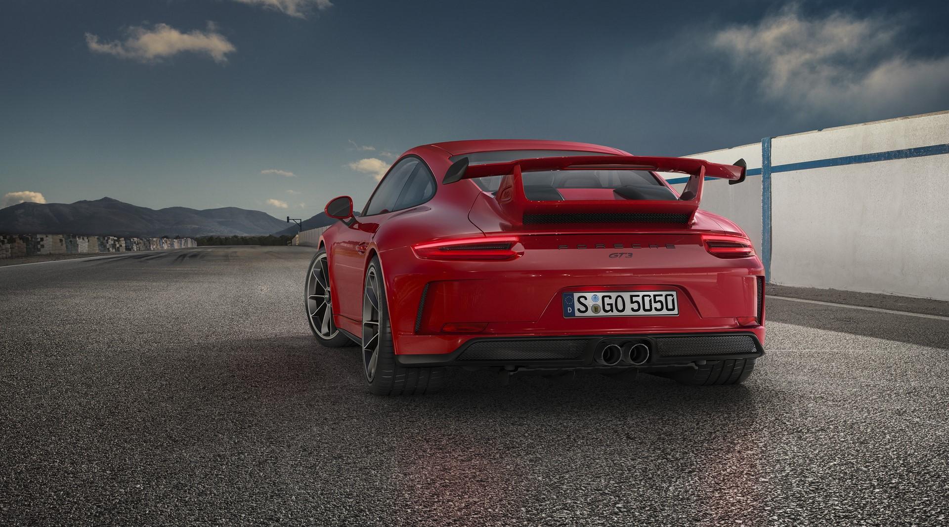 Porsche 911 GT3 facelift 2018 (3)