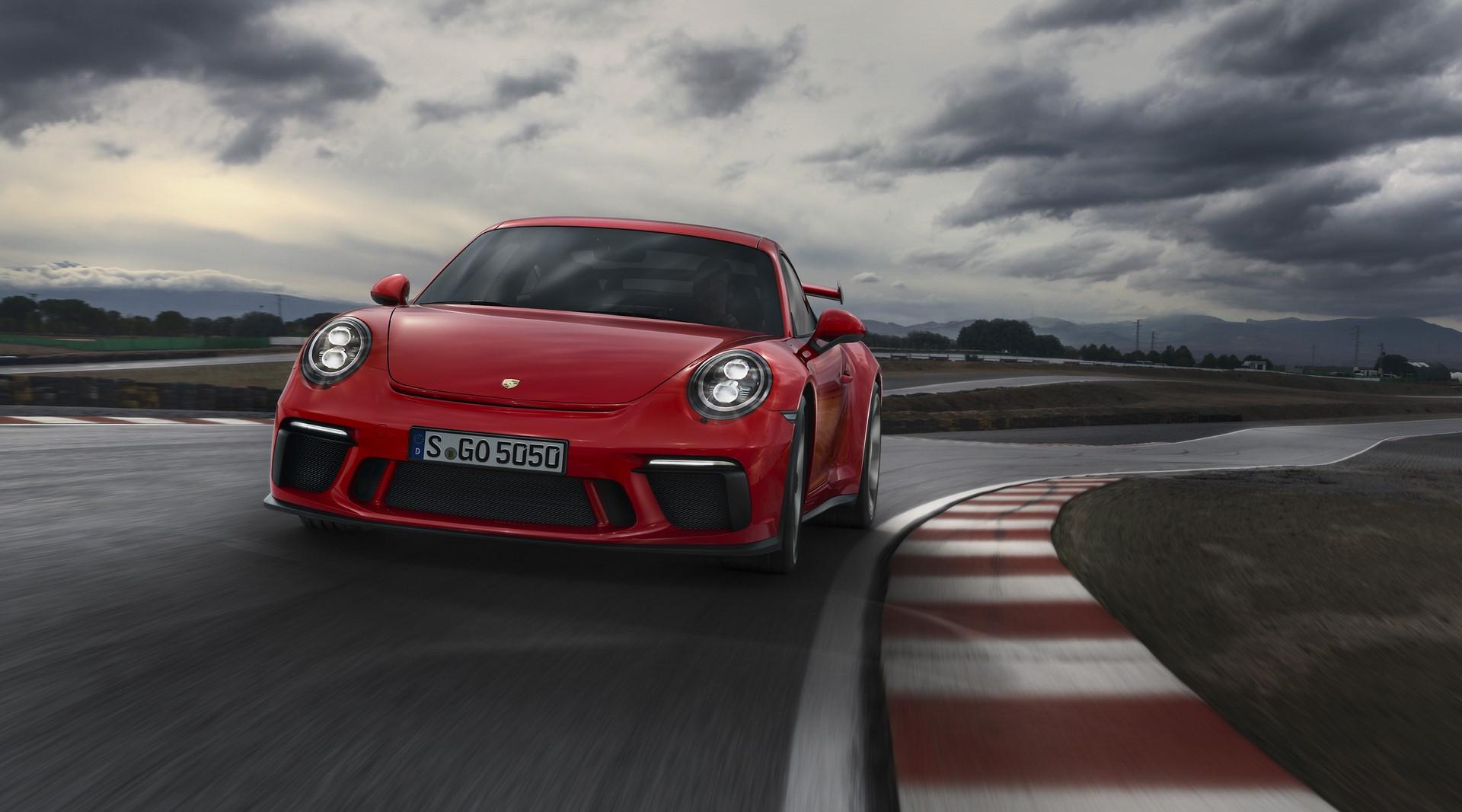 Porsche 911 GT3 facelift 2018 (4)