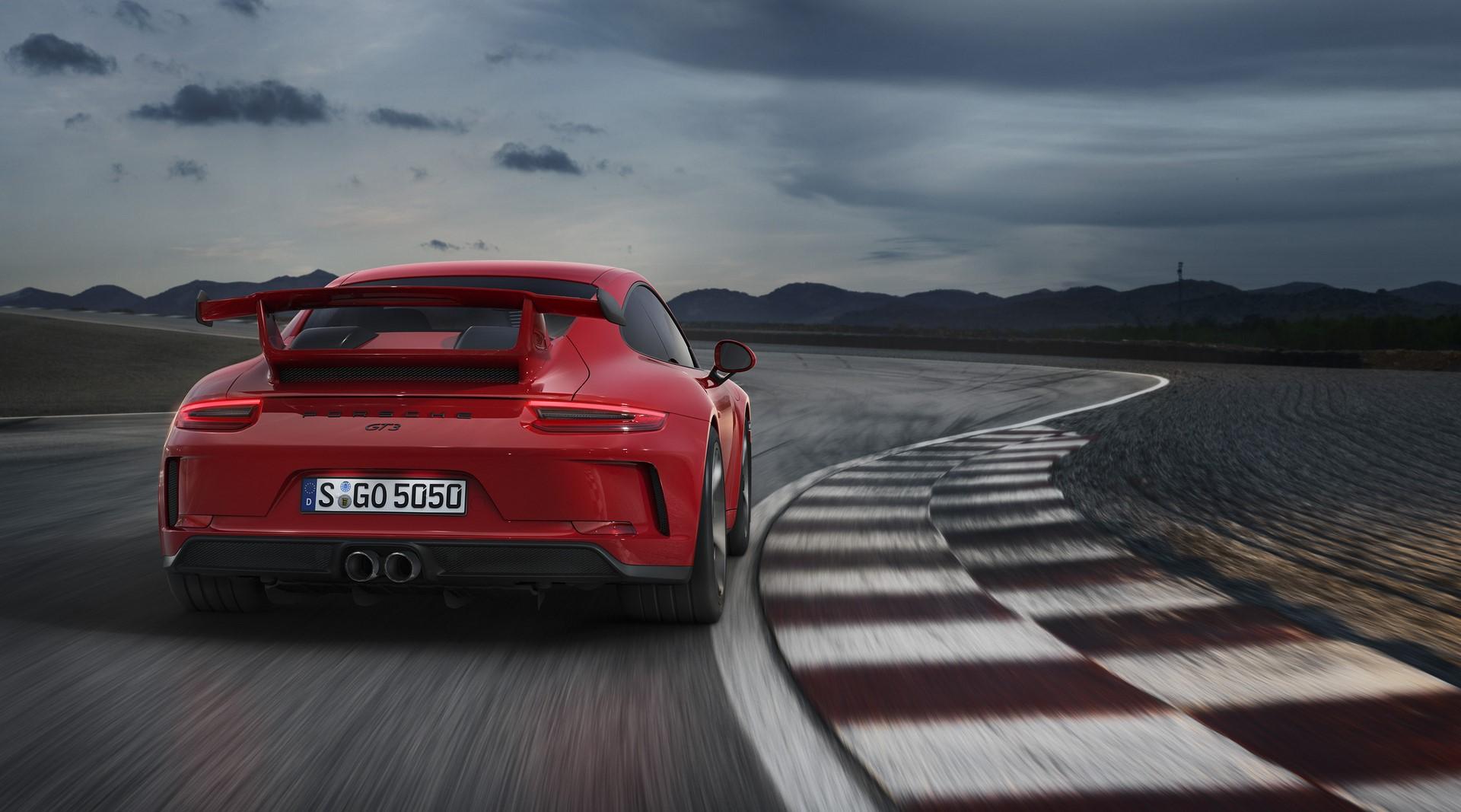 Porsche 911 GT3 facelift 2018 (5)