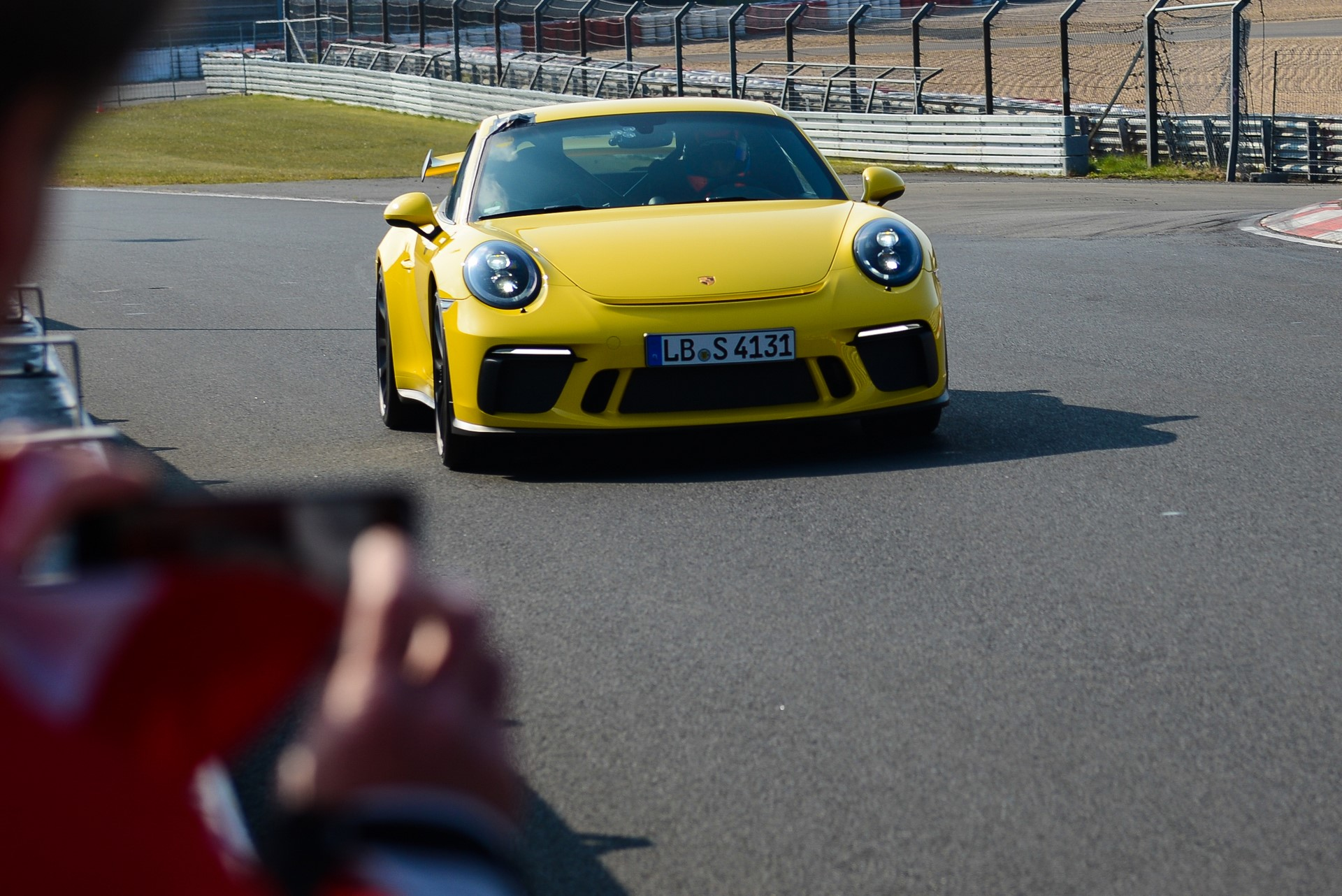 Porsche 911 GT3 facelift at Nurburgring (1)