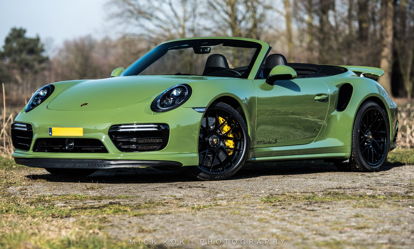 Porsche 911 Turbo S Cabriolet By Edo Competition (1)