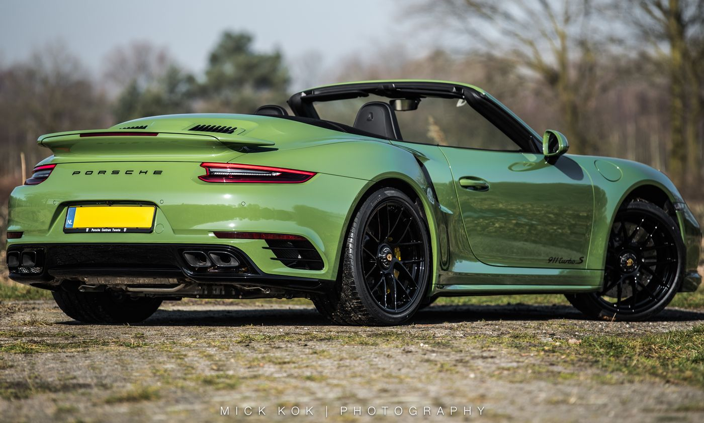 Porsche 911 Turbo S Cabriolet By Edo Competition (7)