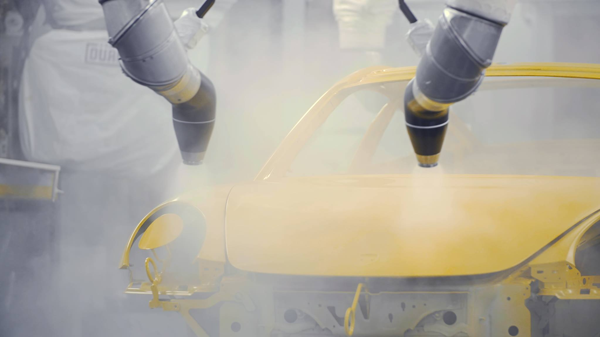 Porsche 911 Turbo Saffron Yellow Metallic (3)