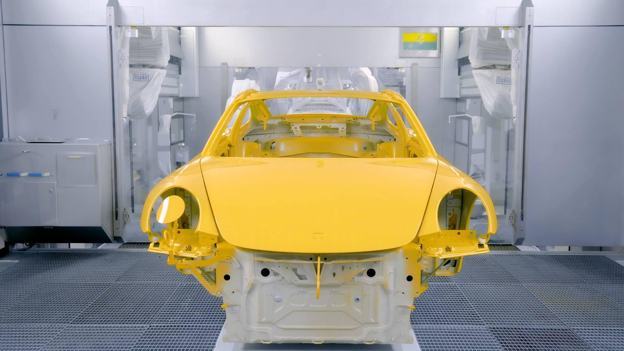 Porsche 911 Turbo Saffron Yellow Metallic (4)