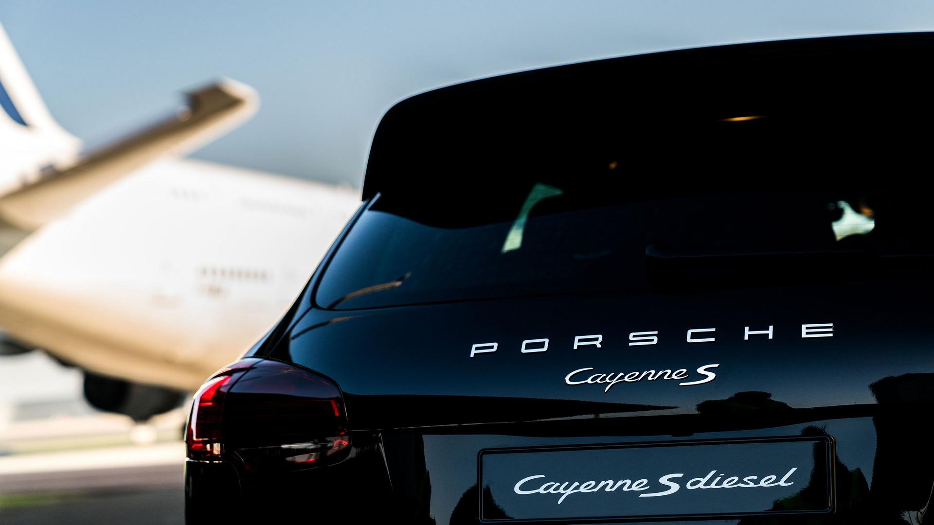 Porsche Cayenne Airbus A380 (10)