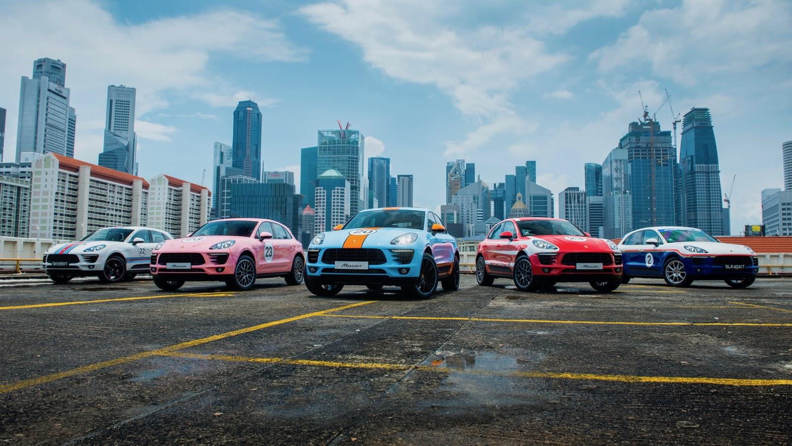 Porsche Macan Classic Racing Liveries (1)