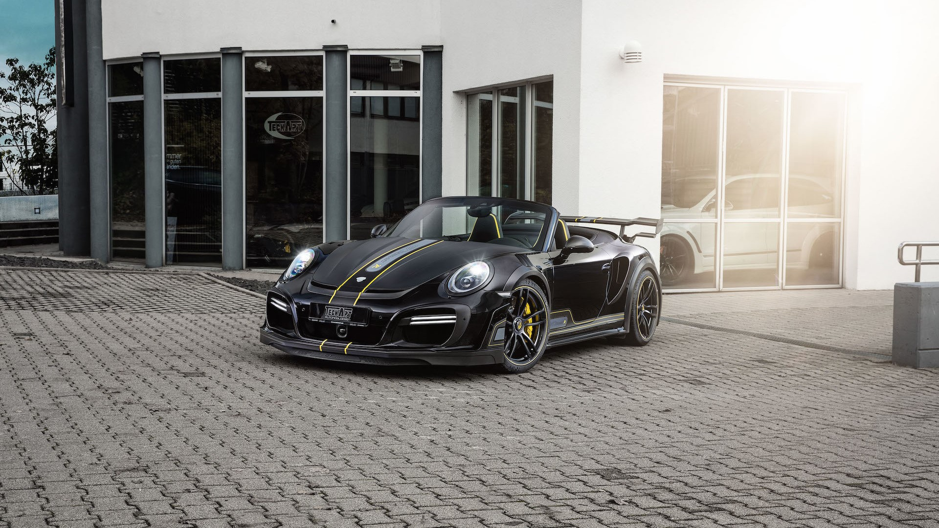 Porshce 911 Turbo Cabriolet by Techart (3)