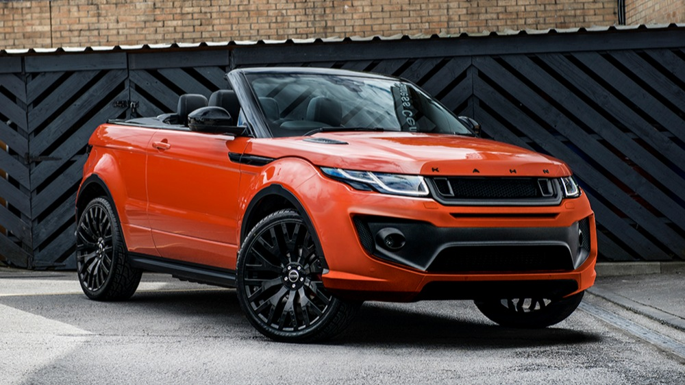 PROJECT KAHN PHOENIX ORANGE RANGE ROVER EVOQUE CONVERTIBLE-1