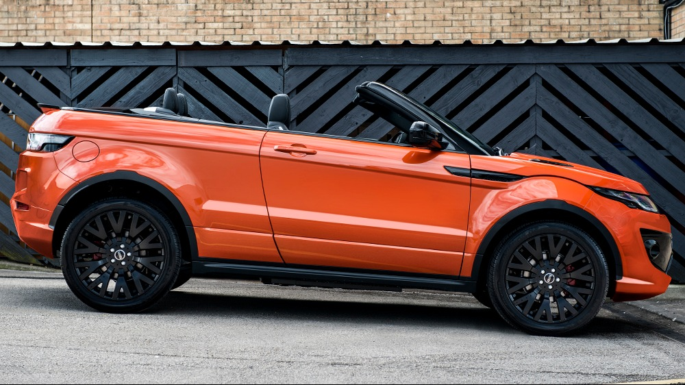 PROJECT KAHN PHOENIX ORANGE RANGE ROVER EVOQUE CONVERTIBLE-2