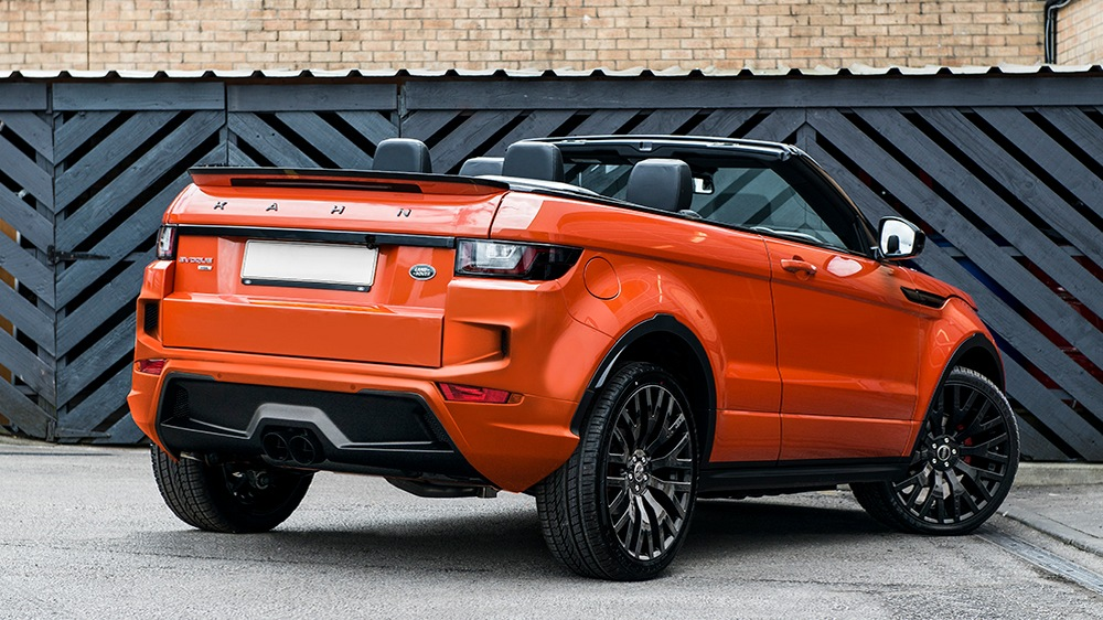 PROJECT KAHN PHOENIX ORANGE RANGE ROVER EVOQUE CONVERTIBLE-3