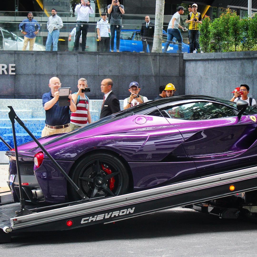 Purple LaFerrari (2)