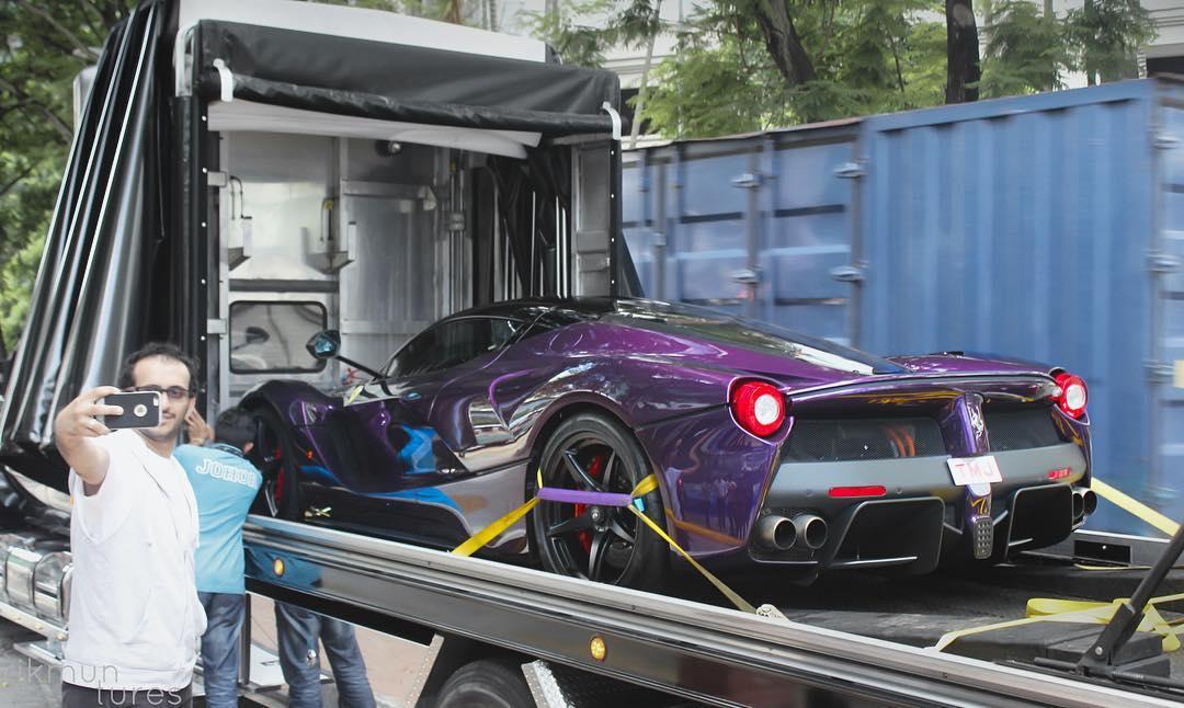 Purple LaFerrari (3)
