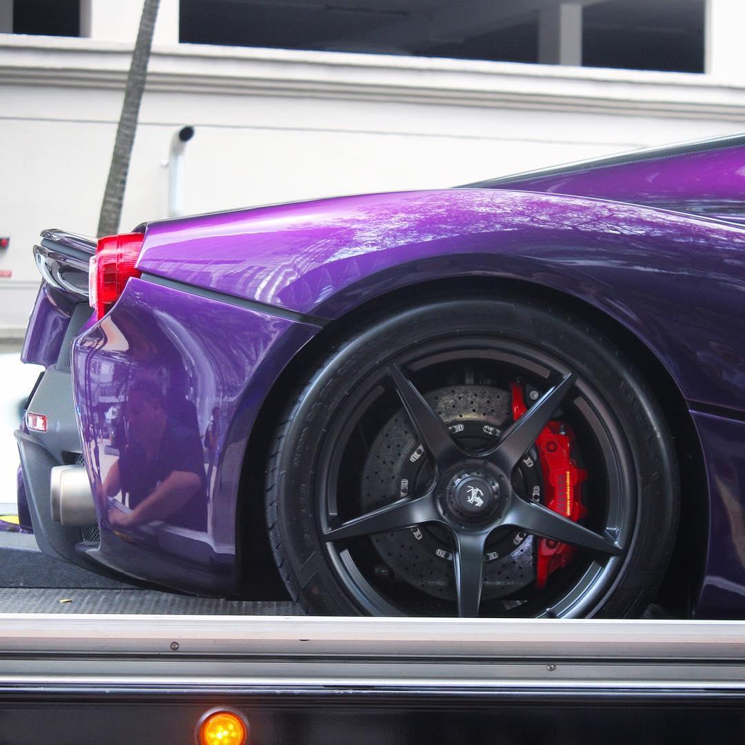 Purple LaFerrari (4)