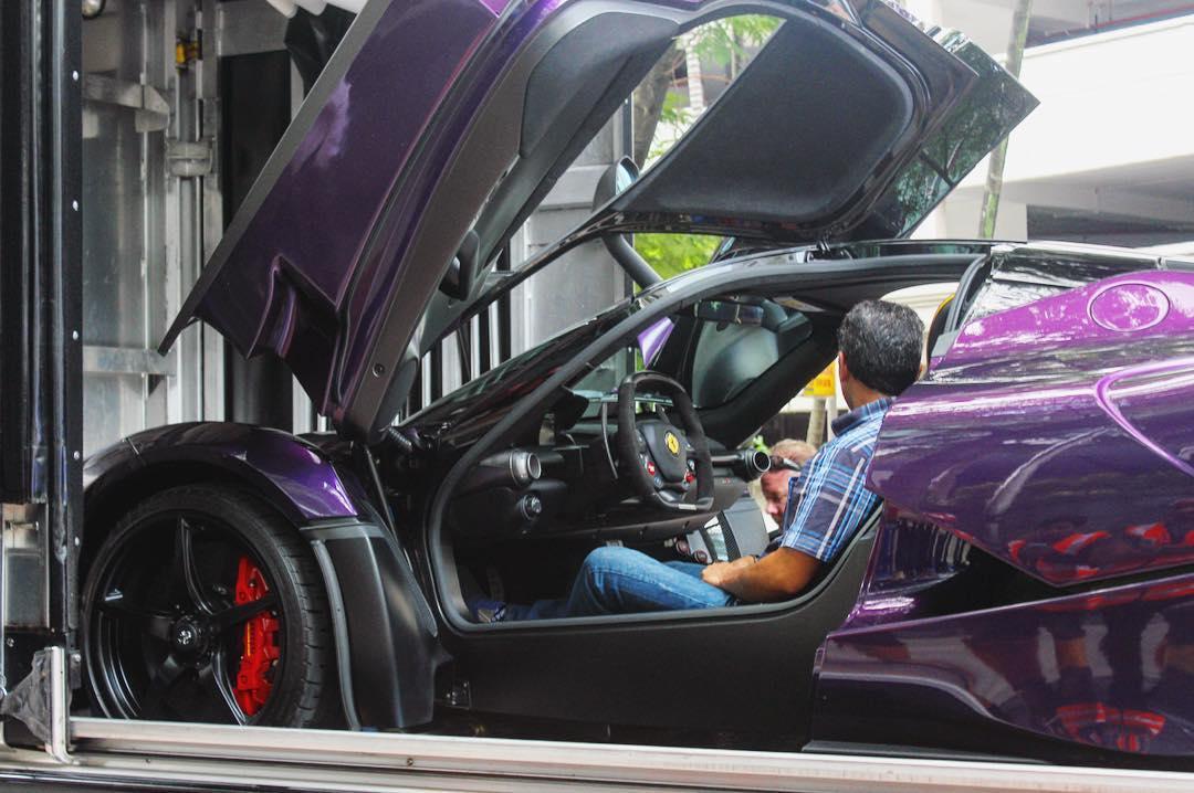 Purple LaFerrari (5)