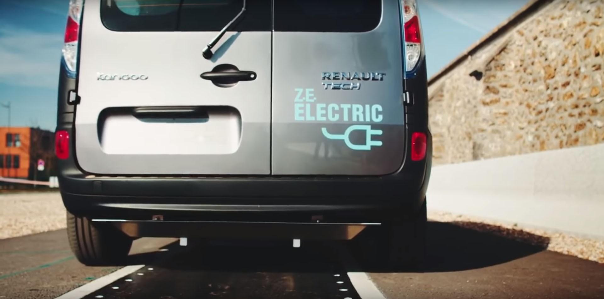 Qualcomm Renault Kangoo ze charging road (5)