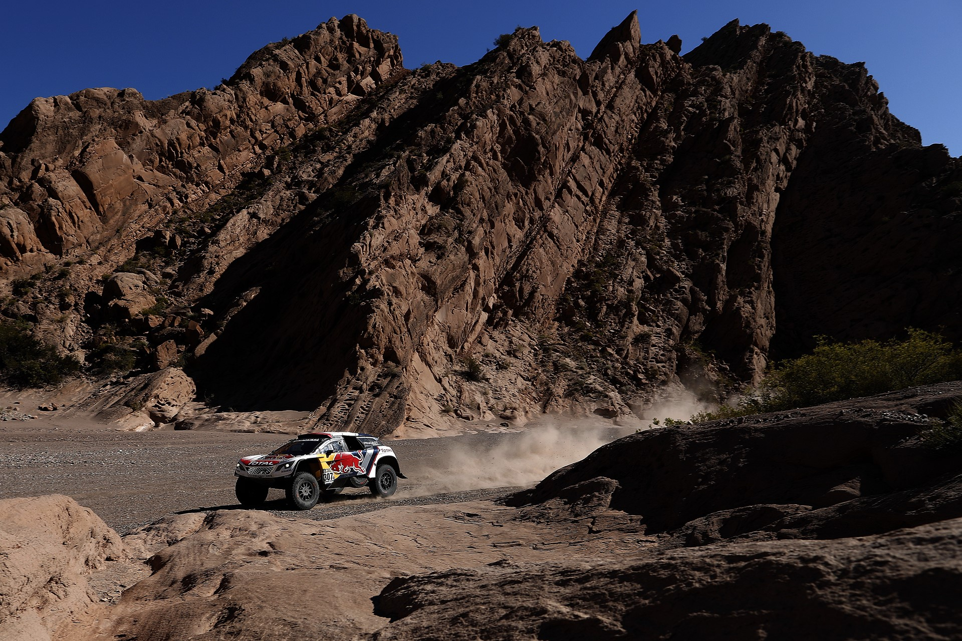 307 DESPRES CYRIL - CASTERA DAVID - TEAM PEUGEOT TOTAL PEUGEOT 3008 DKR action during the Dakar 2017 Paraguay Bolivia Argentina , Etape 10 - Stage 10, Chilecito - San Juan,  January 12 - Photo Florent Gooden / DPPI