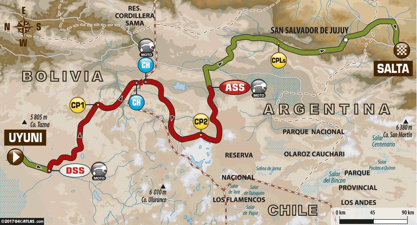 Dakar Stage 8