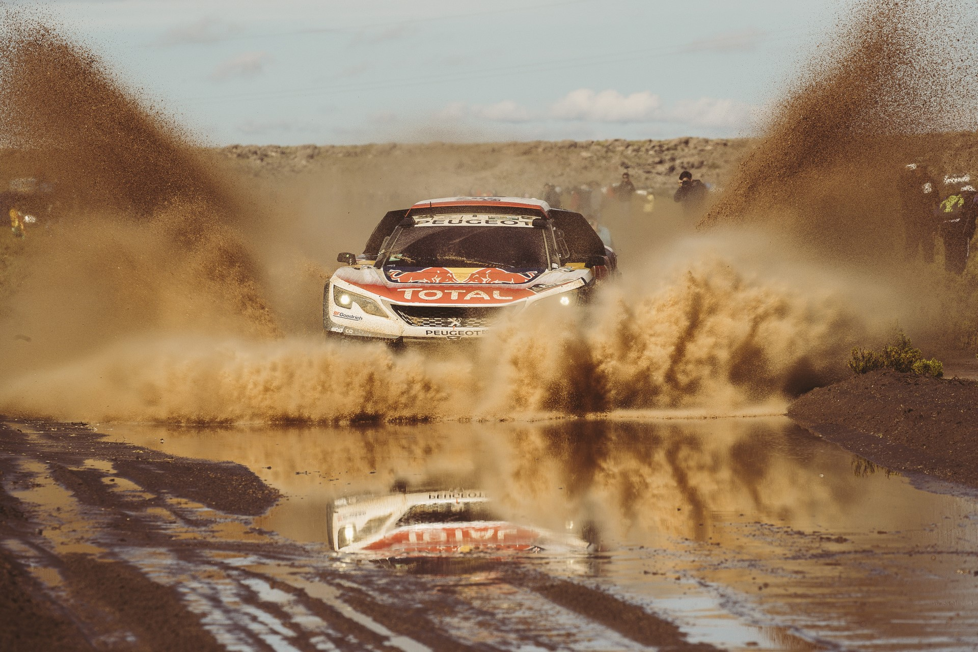 Cyril Despres  (FRA) of Team Peugeot TOTAL races during stage 8 of Rally Dakar 2017 from Uyuni, Bolivia to Salta, Argentina on January 10, 2017.