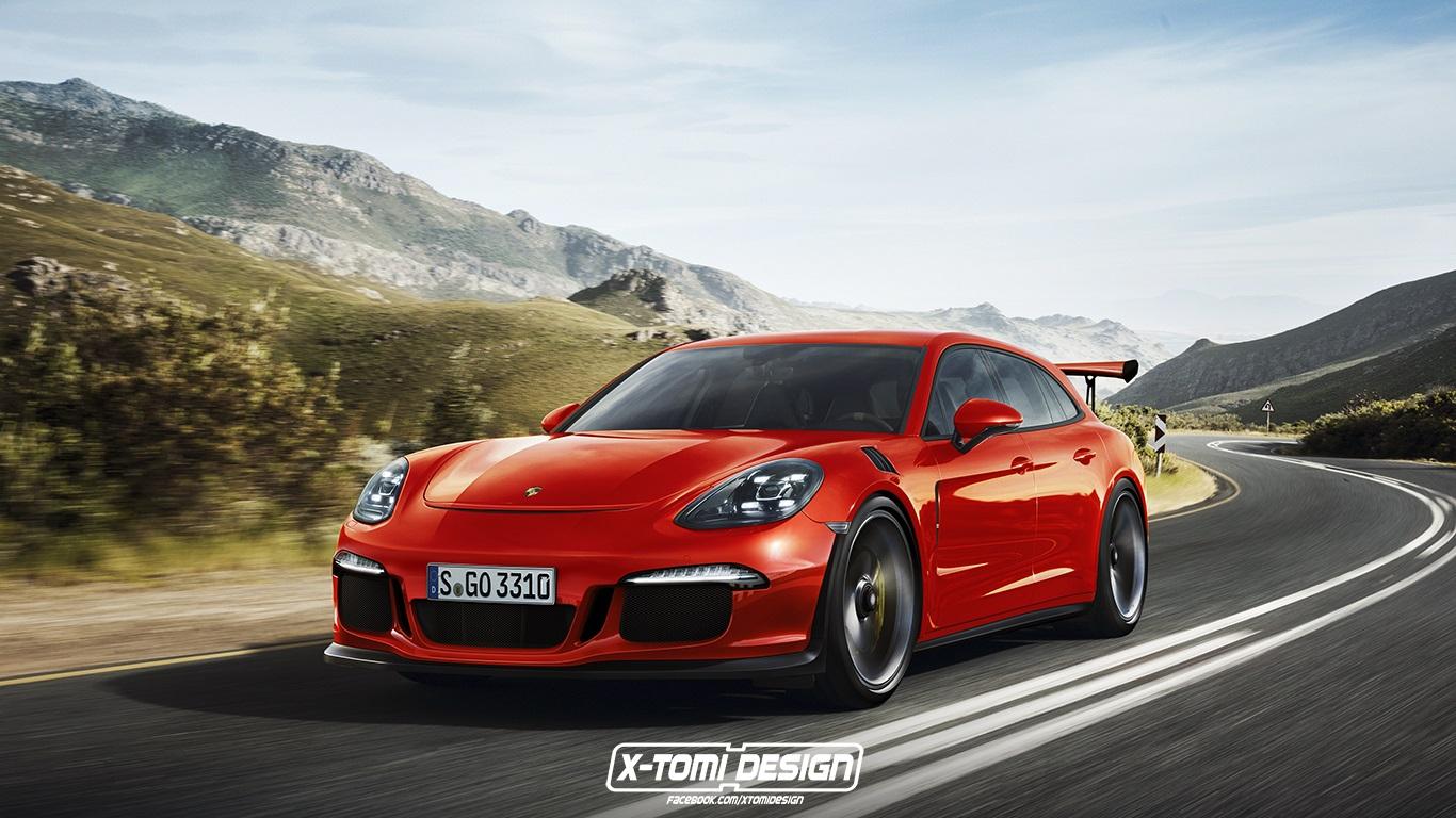 Porsche Panamera Sport Turismo GT3 RS 2
