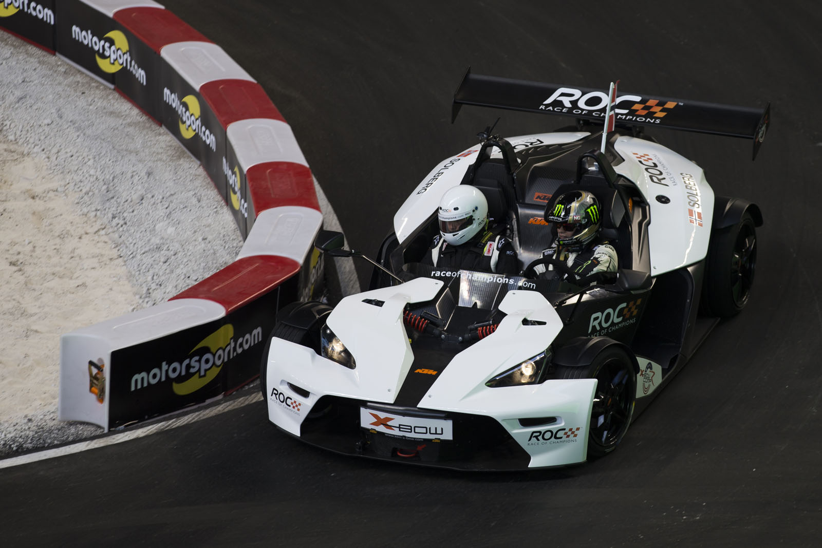 Petter Solberg (NOR) driving the KTM X-Bow Comp R during the ROC Nations Cup on Sunday 22 January 2017 at Marlins Park, Miami, Florida, USA