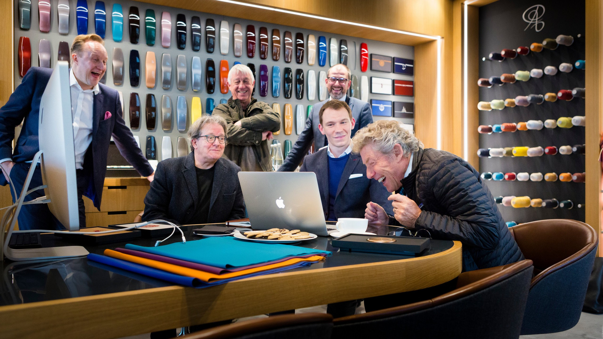 Rock star and Who front man, Roger Daltrey visits the home of Rolls-Royce Motor Cars at Goodwood, West Sussex.  Picture date: Wednesday November 23, 2016. Photograph by Christopher Ison © 07544044177 chris@christopherison.com www.christopherison.com