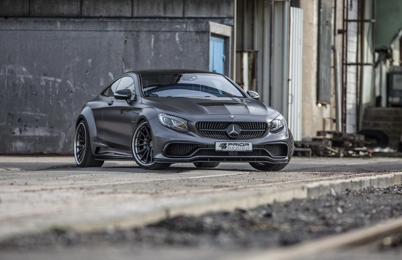 S-Class Coupe by Prior-Design (1)
