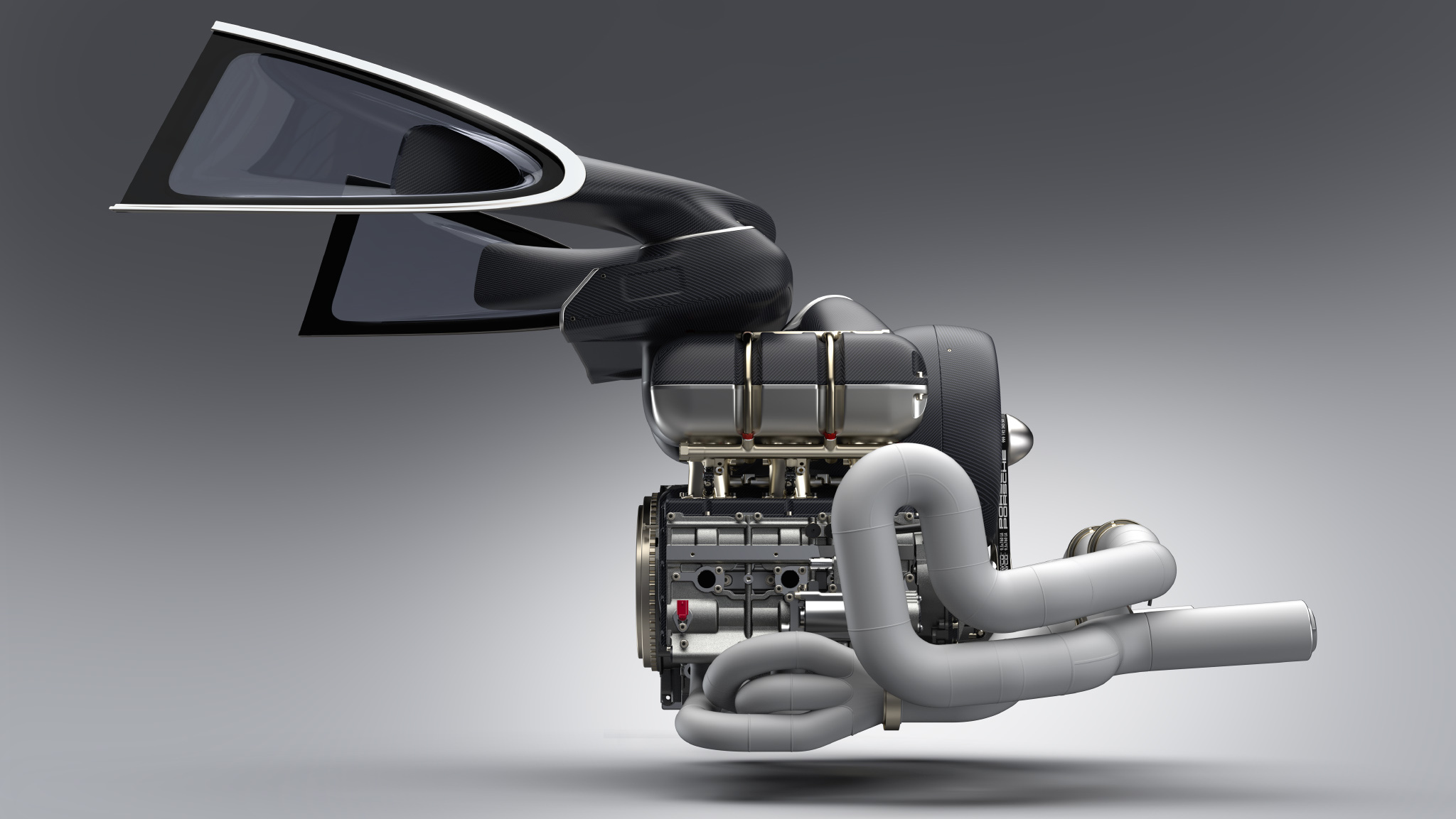 Engine by Singer Vehicle Design and Williams
