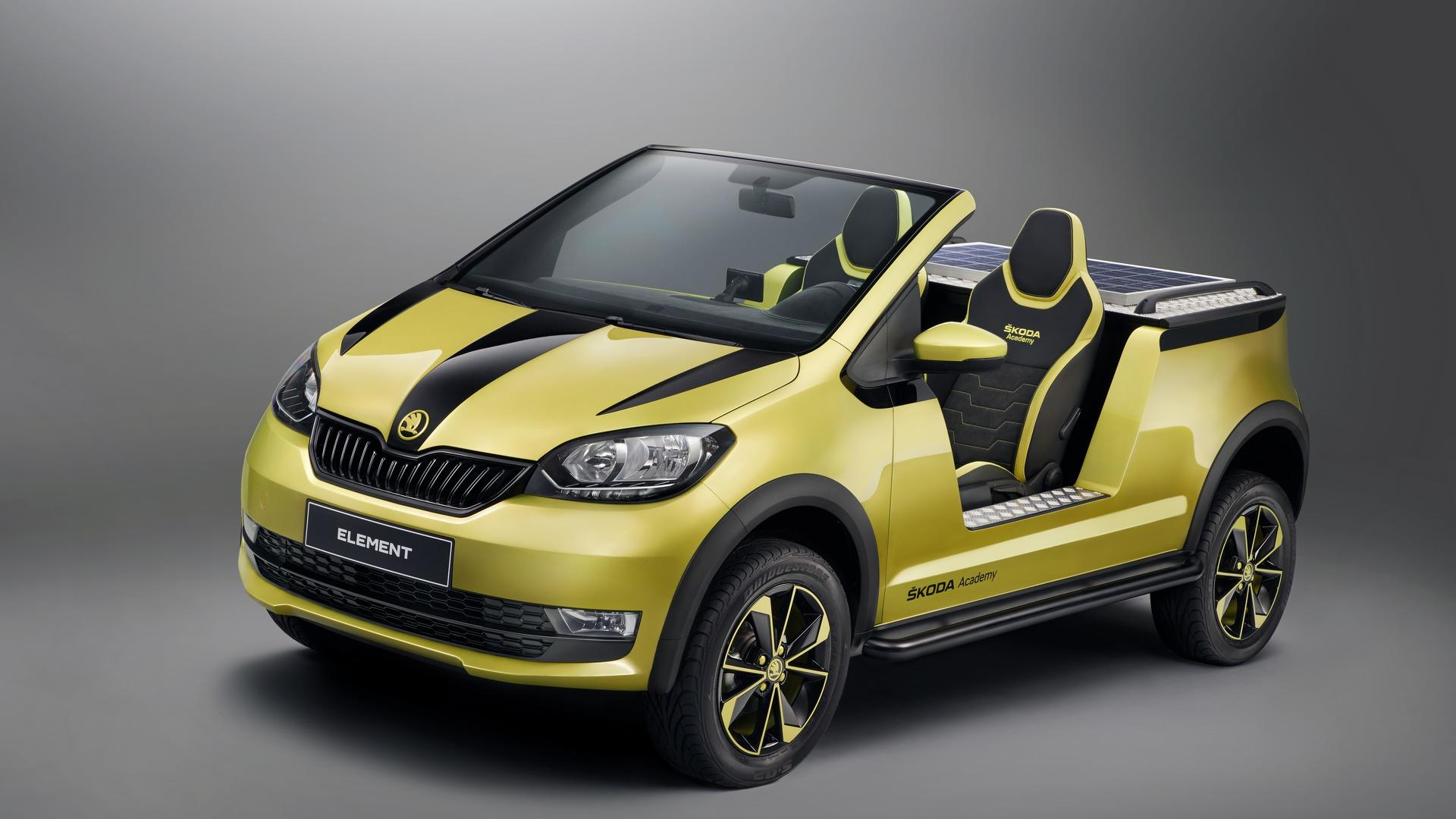 Skoda Element Electric Buggy concept (1)
