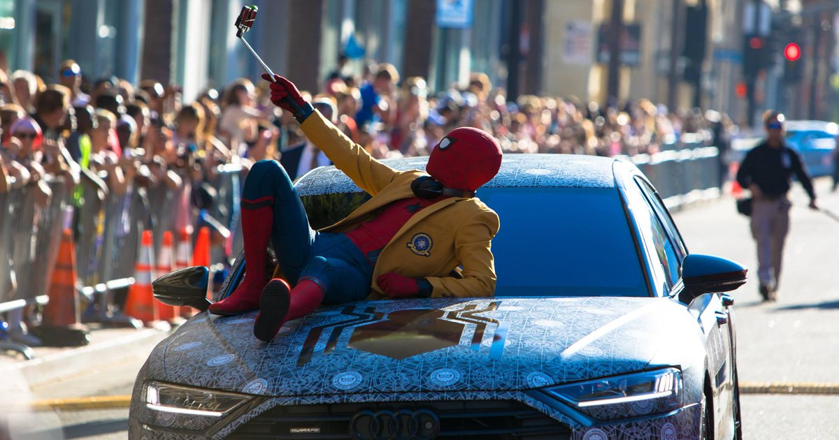 Spiderman Audi A8 (4)