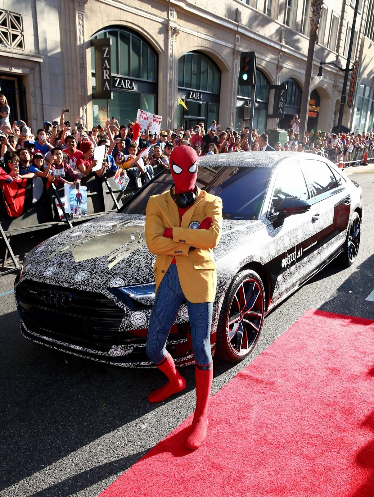 Spiderman Audi A8 (6)