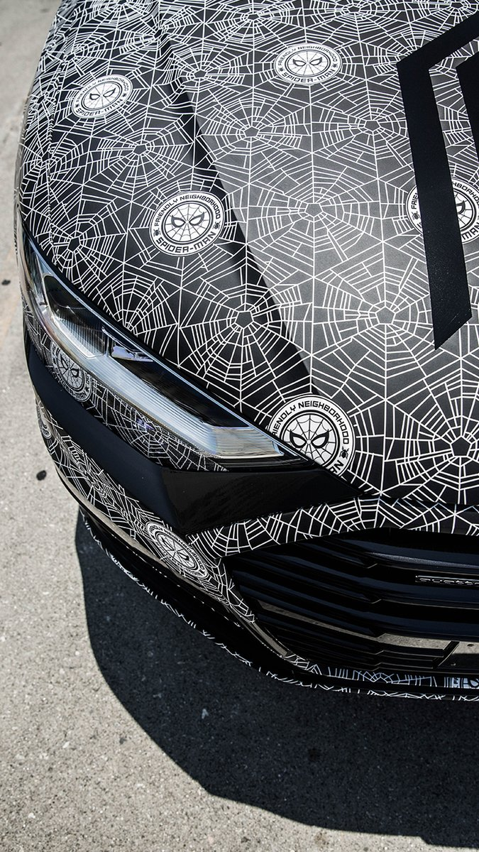 Spiderman Audi A8 (7)