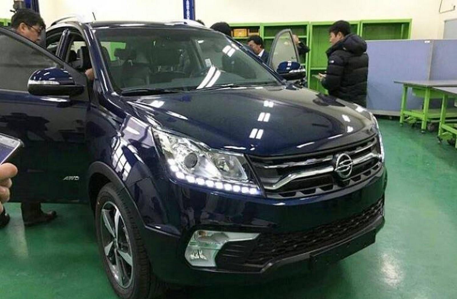 Ssangyong Korando facelift 2017 korea-3
