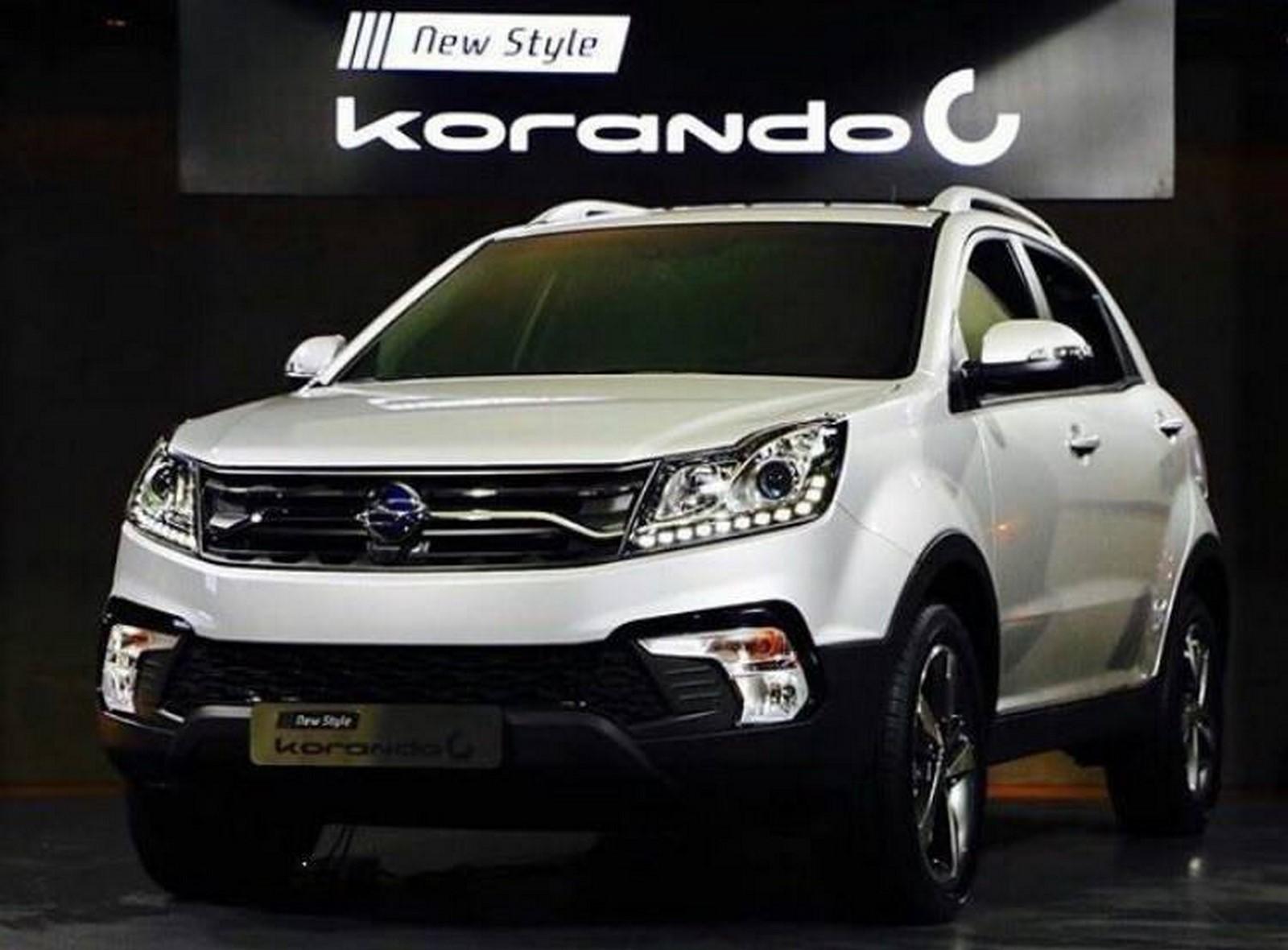 Ssangyong Korando facelift 2017 korea-5