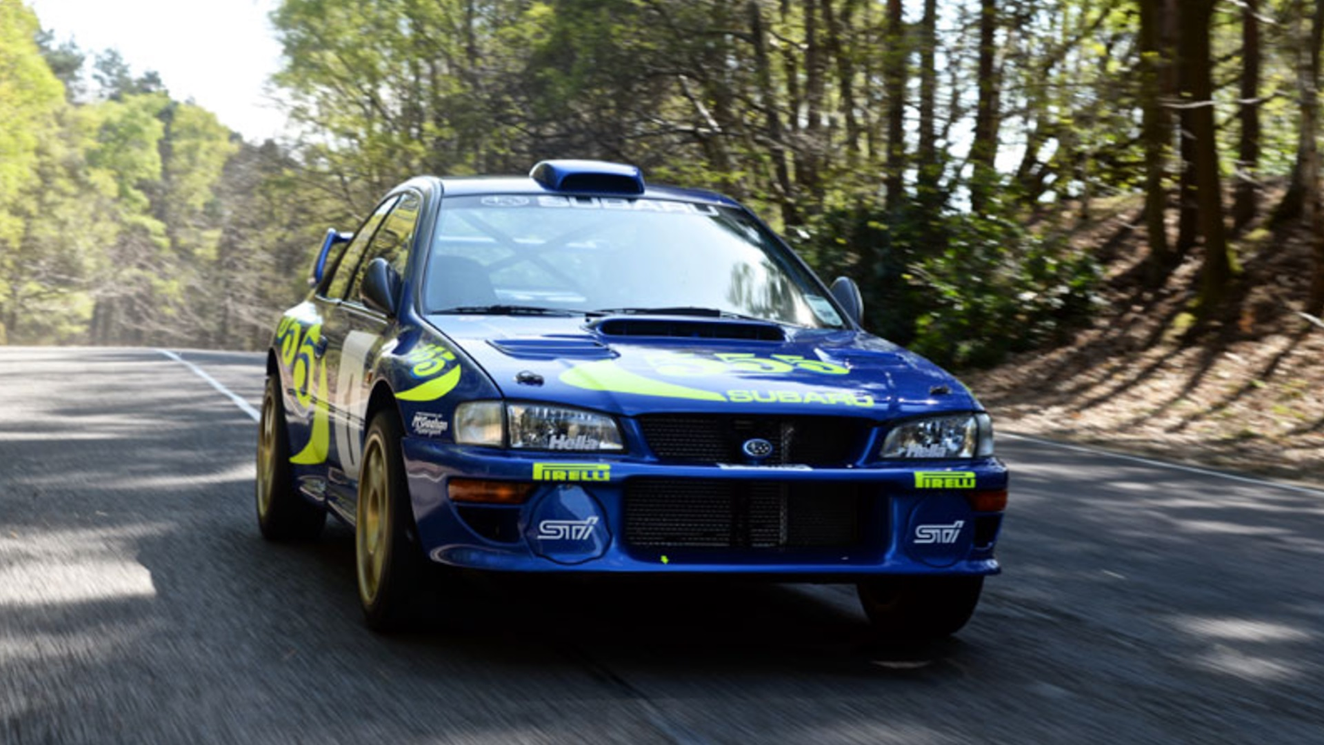 Subaru Impreza WRC Test Car Colin McRae (1)