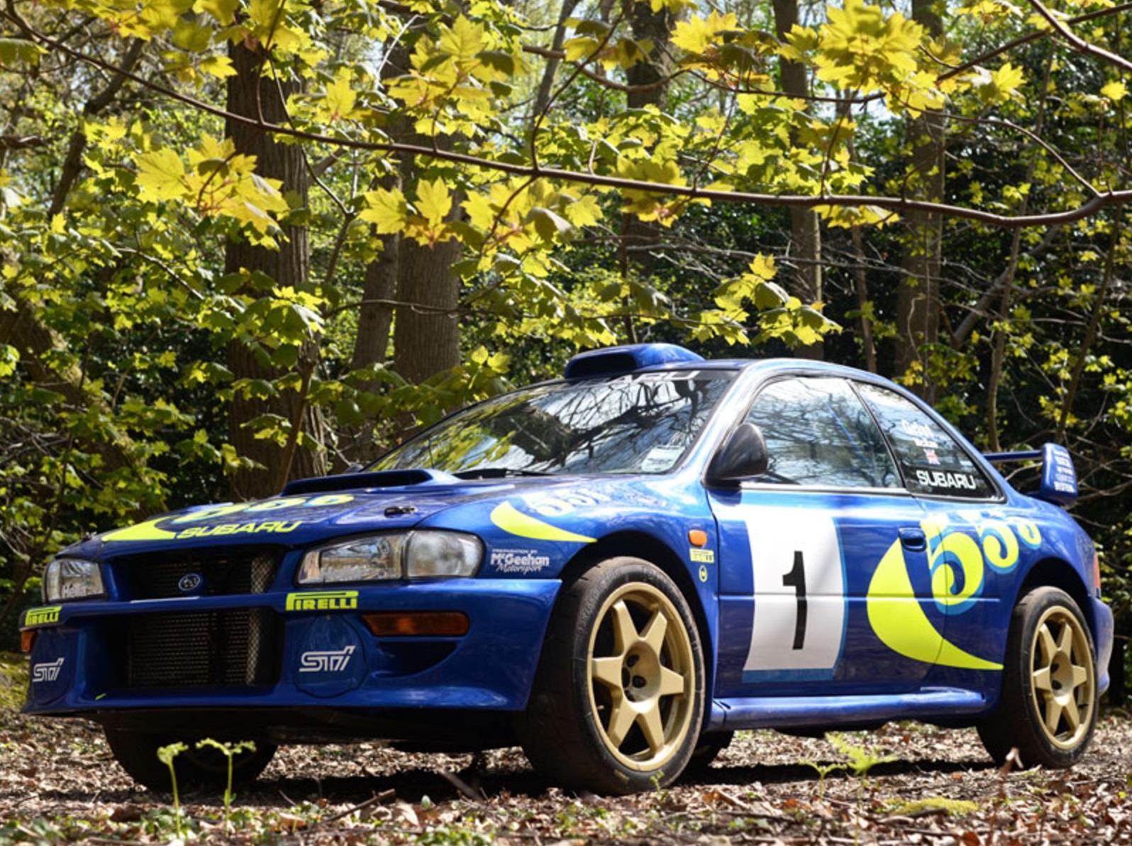 Subaru Impreza WRC Test Car Colin McRae (2)
