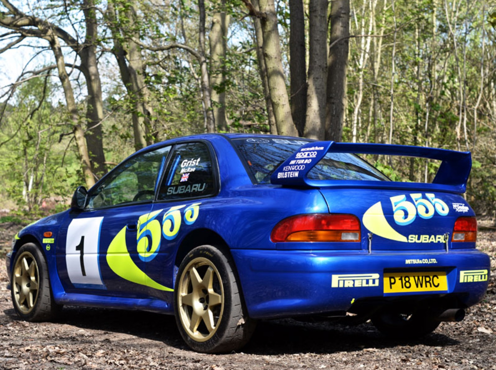 Subaru Impreza WRC Test Car Colin McRae (3)